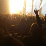 Crowd and Stage by Benjamin Cook